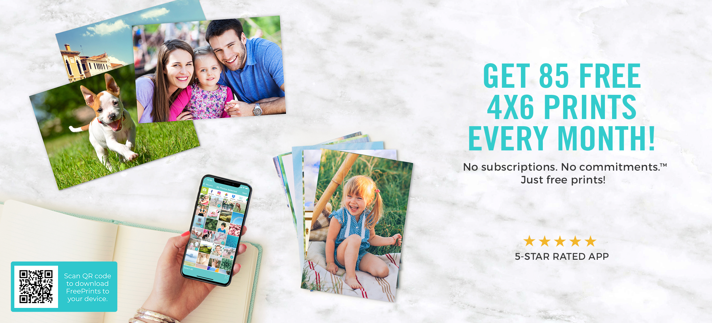 GET A FREE 8X8 PHOTO TILE
